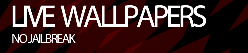 How to get Live Wallpapers Without a Jailbreak ! [FREEE] |